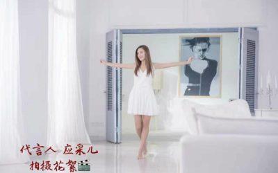 微女神洗发水代言人应采儿广告拍摄花絮